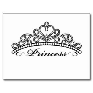 Tiara Pageant Crown Clip Art Princess Cr-Tiara pageant crown clip art princess crown postcards crowns-12