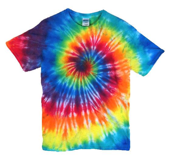 Tie Dye T-Shirt - Classic . - Tie Dye Clipart