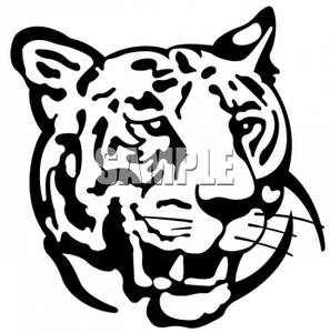 tiger clipart black and white-tiger clipart black and white-10