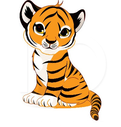 tiger face clip art-tiger face clip art-0