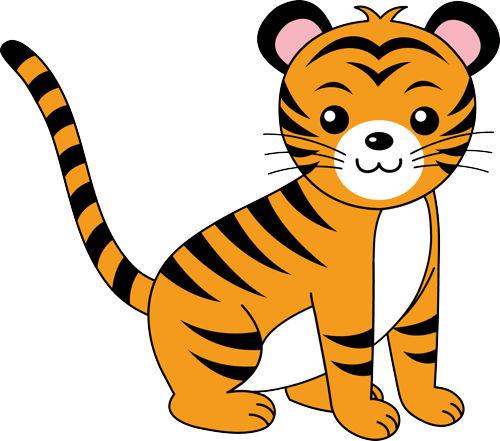 Tiger Clip Art-Tiger Clip Art-17