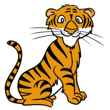 tiger free clip art image .