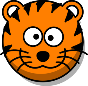 Tiger head clipart free - ClipartFox