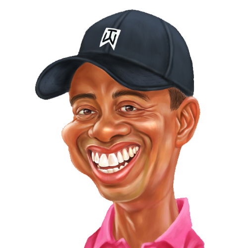 Tiger Woods Clipart
