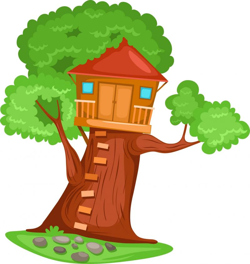 Tillman United Methodist Chur - Tree House Clip Art