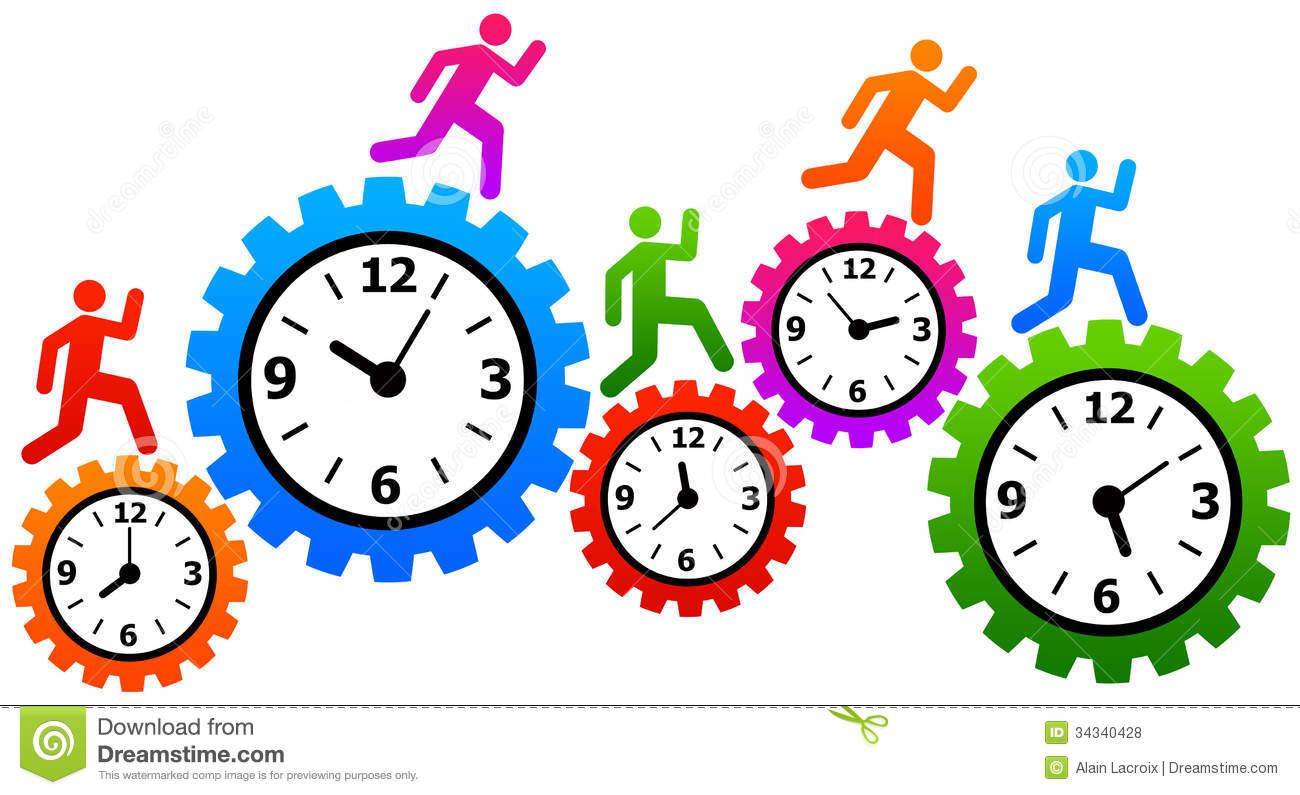 Time And Stress Management . - Time Management Clipart