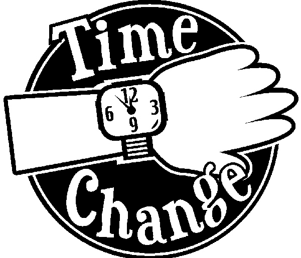 Time Change Clipart