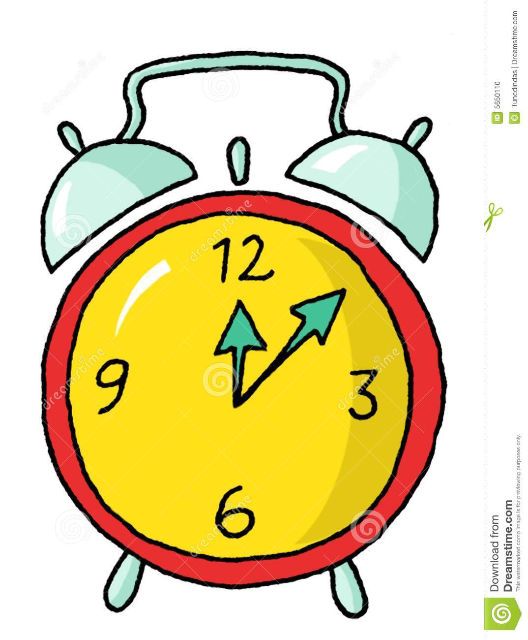 Time Clock Woman Clipart #1