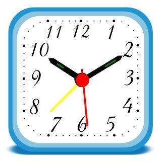 Time Clock Clip Art-Time Clock Clip Art-16