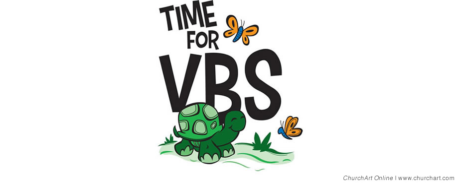 Time for VBS clipart
