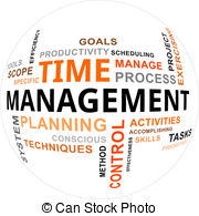 Time management Clipartby Spectral3/370; word cloud - time management - A word cloud of time... ...