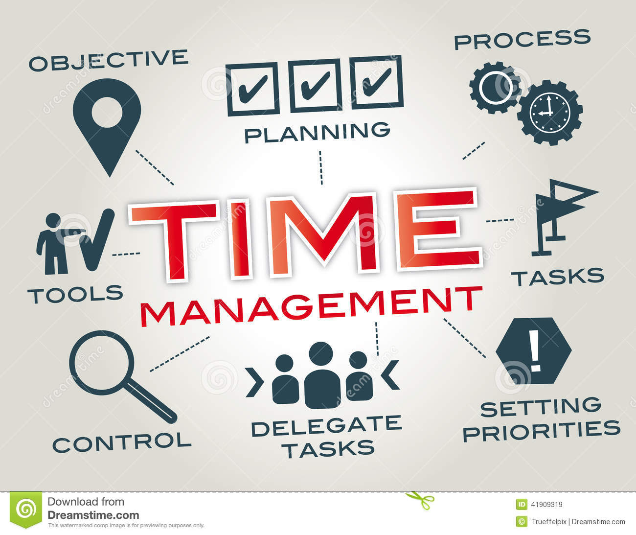 Time management - Time Management Clipart