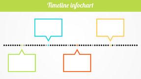 timeline clipart. Timeline infochart Royalty .
