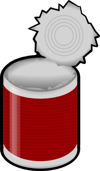 Tin Can Clip Art At Clker Com Vector Cli-Tin Can Clip Art At Clker Com Vector Clip Art Online Royalty Free-17