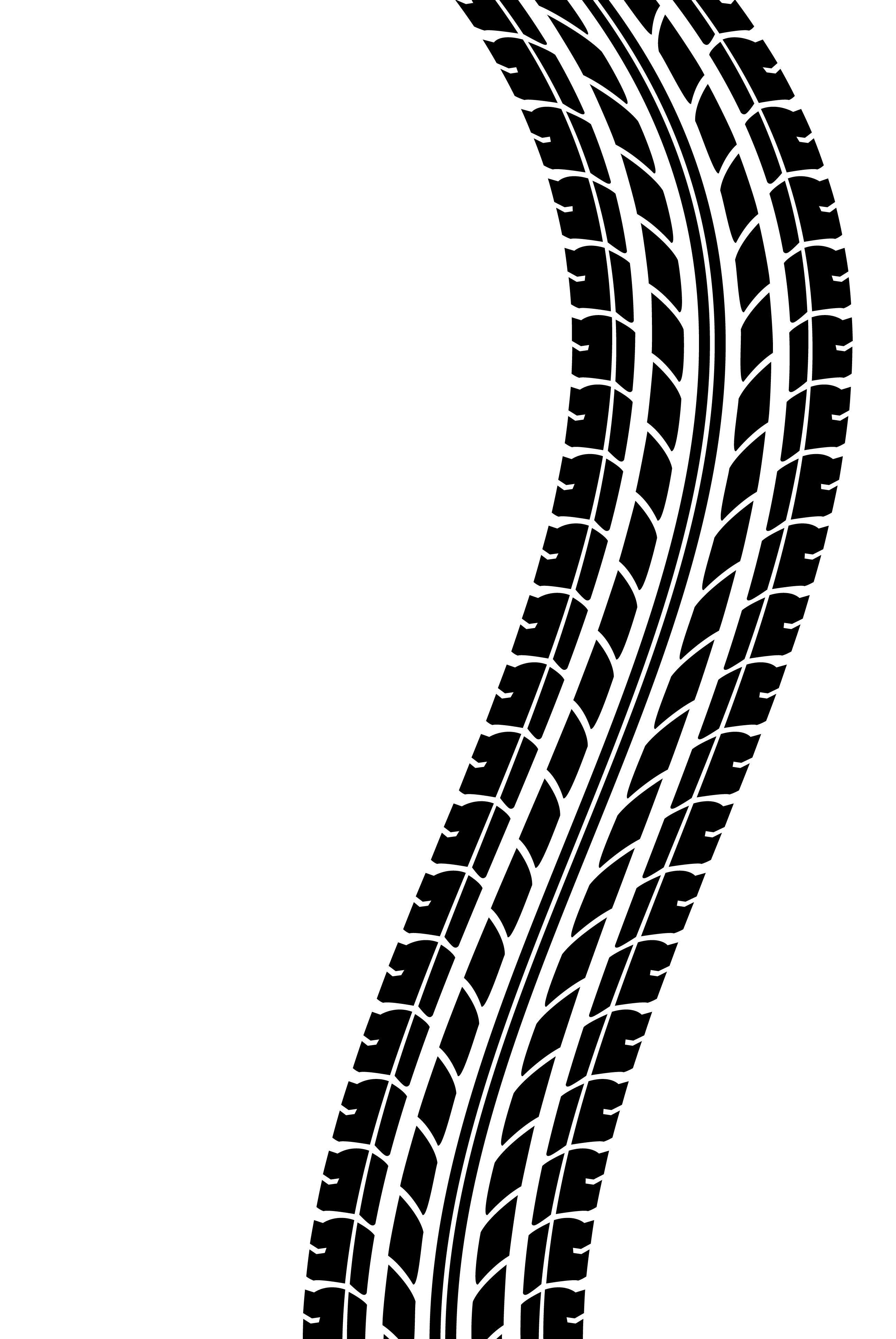 Tire Tracks Clip Art Cliparts Co