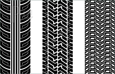 Tire tracks clipart