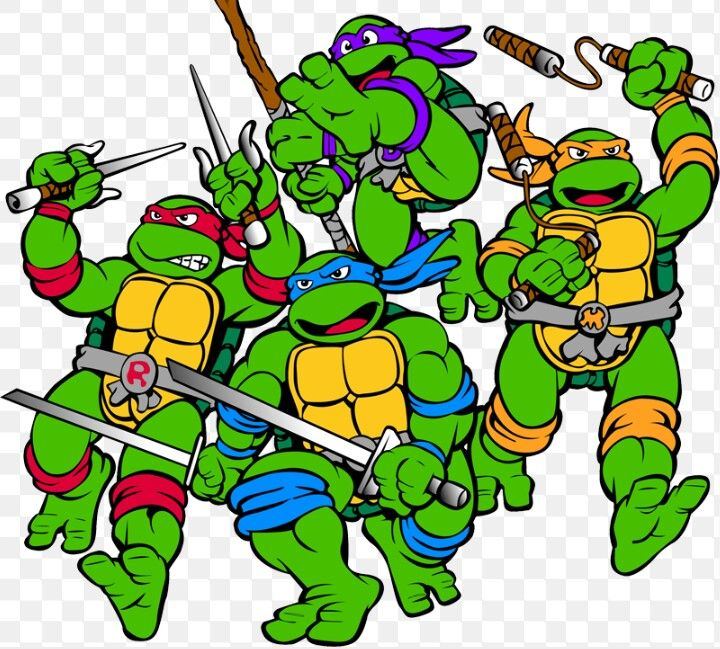 Are On A Transparent Backgrou - Tmnt Clipart
