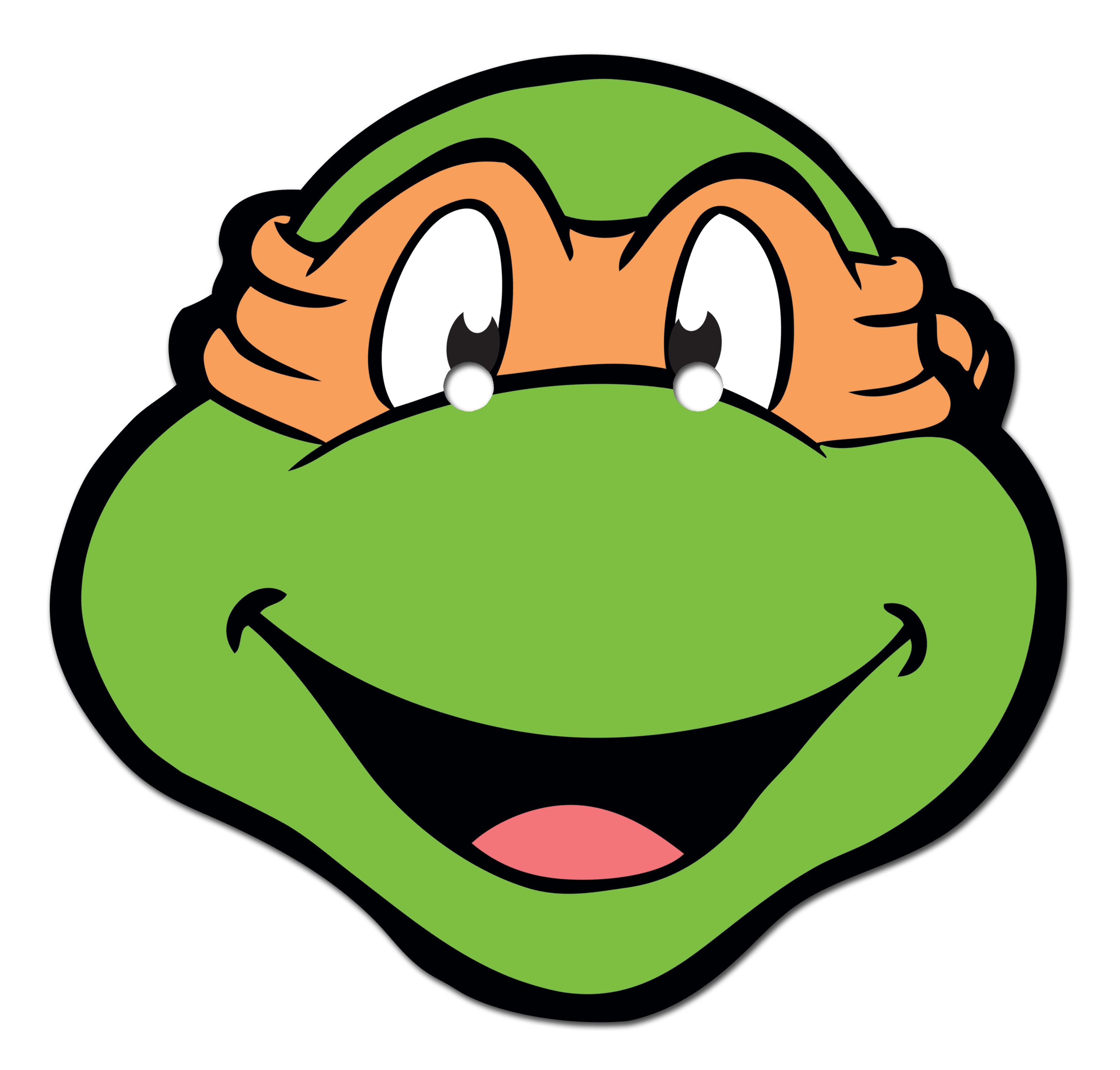 Teenage Mutant Ninja Turtles Michelangel-Teenage Mutant Ninja Turtles Michelangelo Face-12