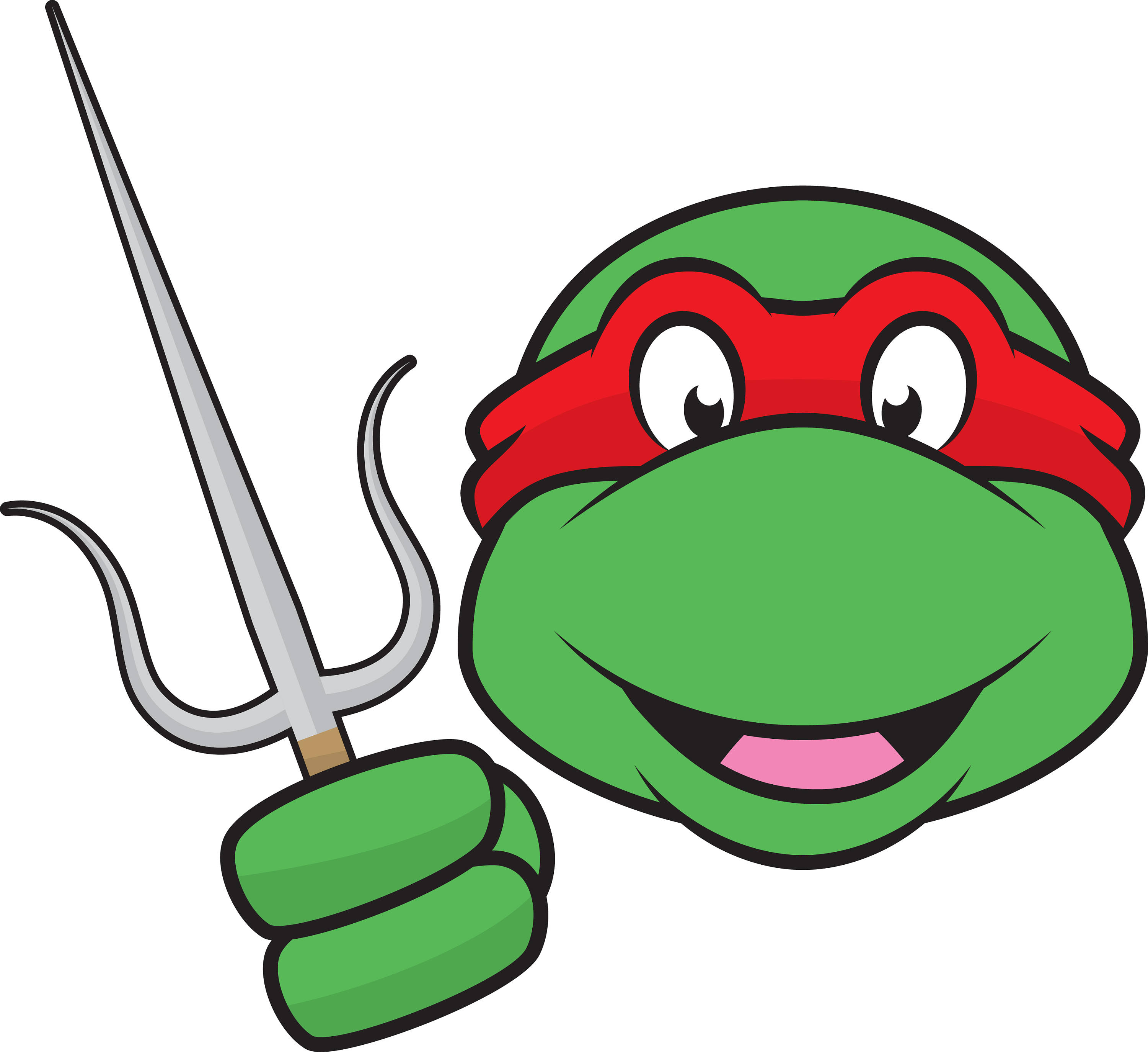 This is a digital file - Tmnt Clipart