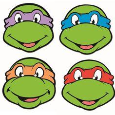 Voorbeeld Voor Puzzelplaatje Taart · Ni-voorbeeld voor puzzelplaatje taart · Ninja TurtlesTmnt-19