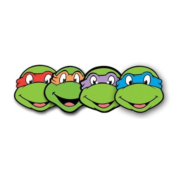 Tmnt With City Clipart