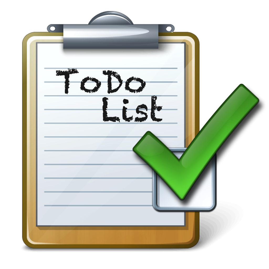 To Do List Clipart