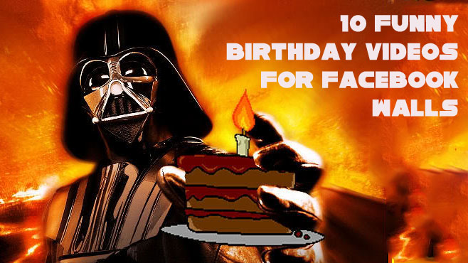 Today is my birthday, but Iu0026#39;m giving you the greatest gift of all: 10 funny videos you can post on the Facebook walls of friends who are celebrating their ...