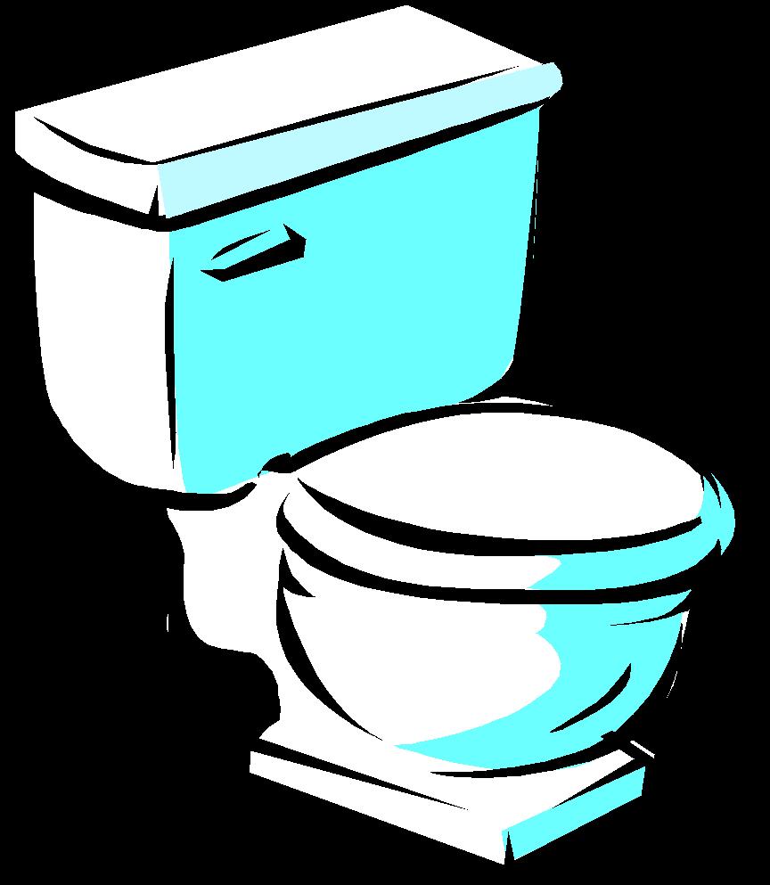 Toilet Clipart U0026middot; Bathroom Cli-toilet clipart u0026middot; bathroom clipart-17