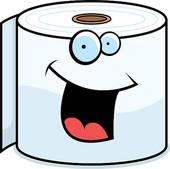 ... toilet paper ...