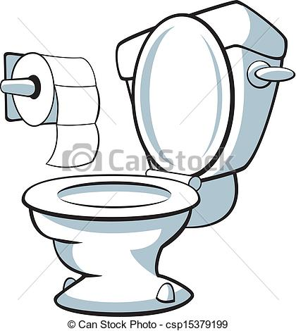 ... Toilet - Vector Illustration Of A To-... Toilet - Vector illustration of a toilet.-19