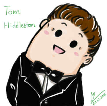 Tom Hiddleston with Leaning Head style b-Tom Hiddleston with Leaning Head style by Lad1991 ClipartLook.com -12
