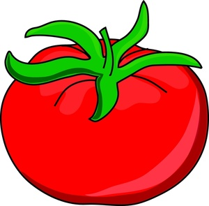 tomato clipart black and white