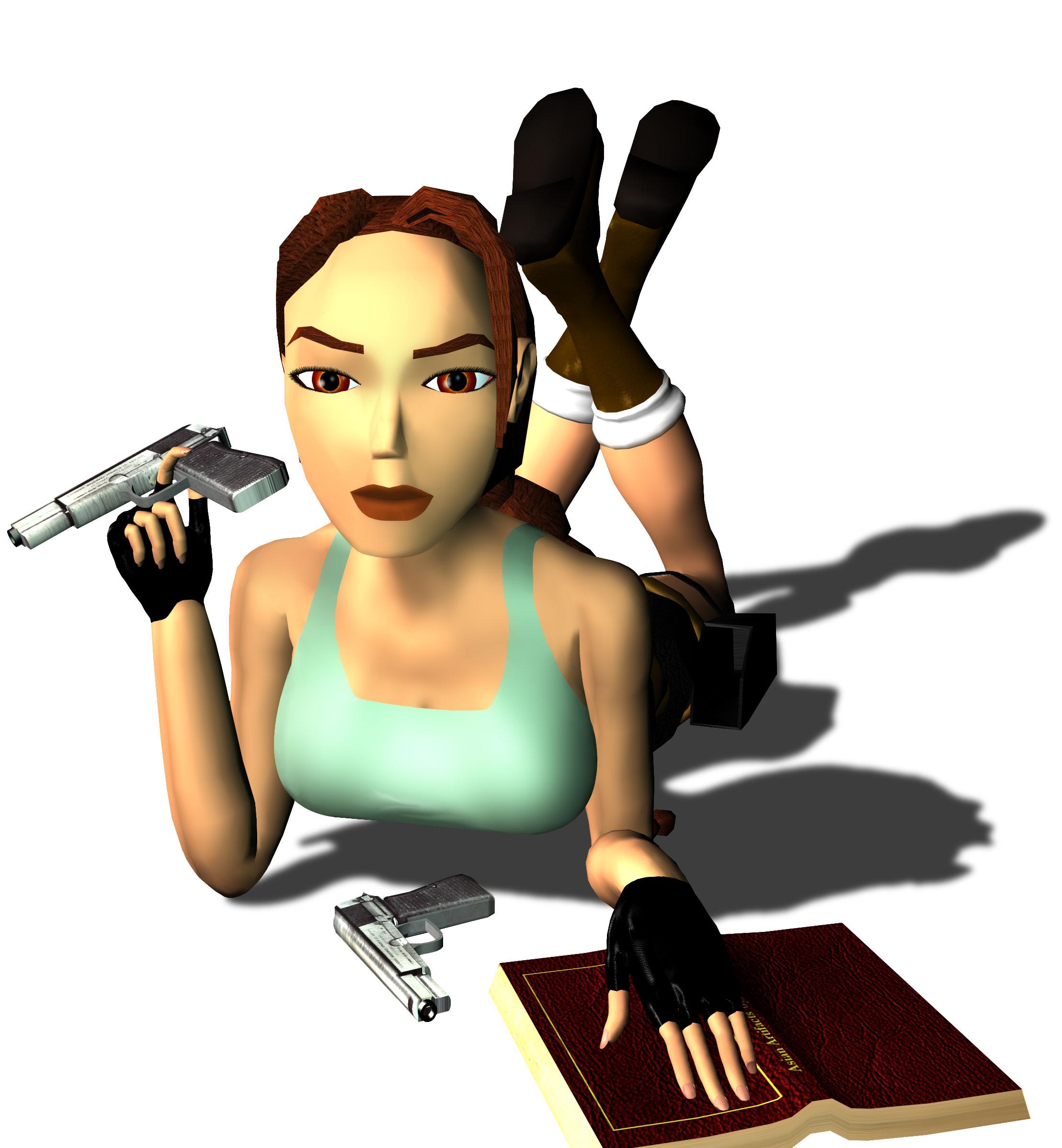Tomb Raider III: Adventures of Lara Croft Renders