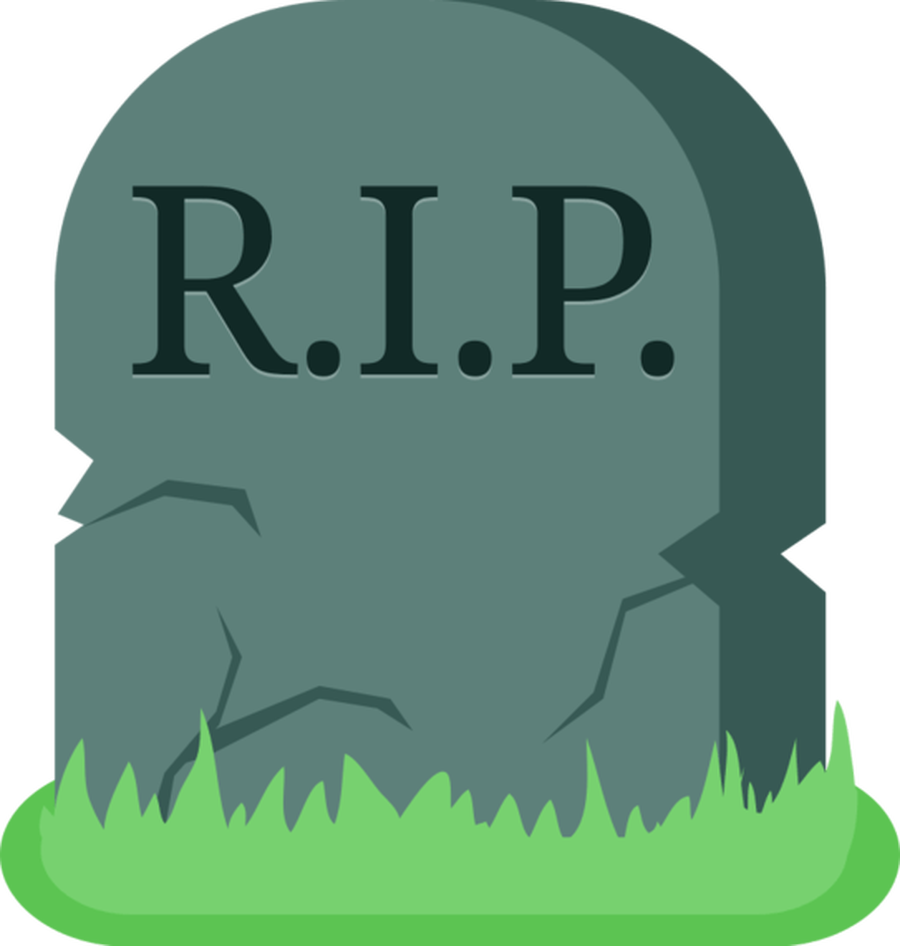 Tombstone Clipart Dead Death Grave Parti-Tombstone Clipart Dead Death Grave Parting Rest In Peace-12