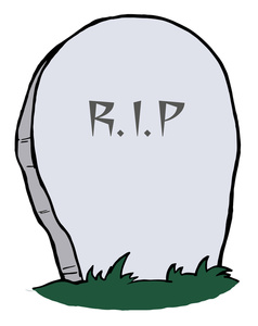 Tombstone Clipart Image Rip O - Tombstone Clipart