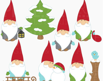Christmas Gnomes Clipart.41 Gnome Clip Art Clipartlook
