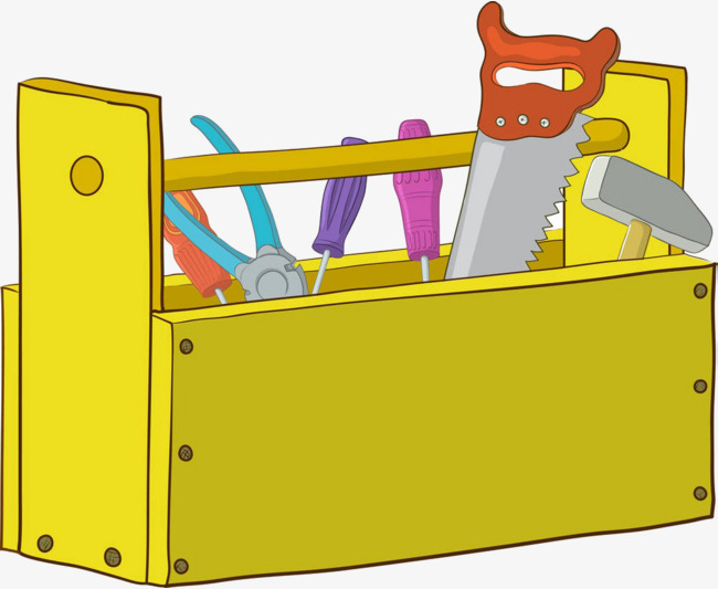 cartoon toolbox, Cartoon, Toolbox, Saws -cartoon toolbox, Cartoon, Toolbox, Saws PNG Image and Clipart-15