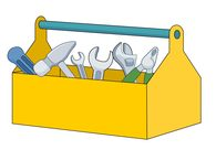 open toolbox filled with different tools-open toolbox filled with different tools clipart. Size: 44 Kb-16