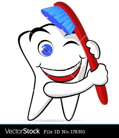 Tooth Clipart. Brushing Teeth   Clipart -tooth clipart. brushing teeth   Clipart Panda - Free Clipart Images-19