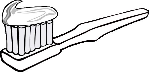 Toothbrush Clip Art At Clker Com Vector Clip Art Online Royalty
