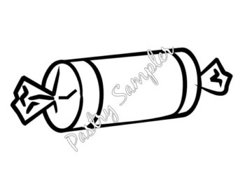 Tootsie Roll Candy Pastry Vinyl Decal-Tootsie Roll Candy Pastry Vinyl Decal-7