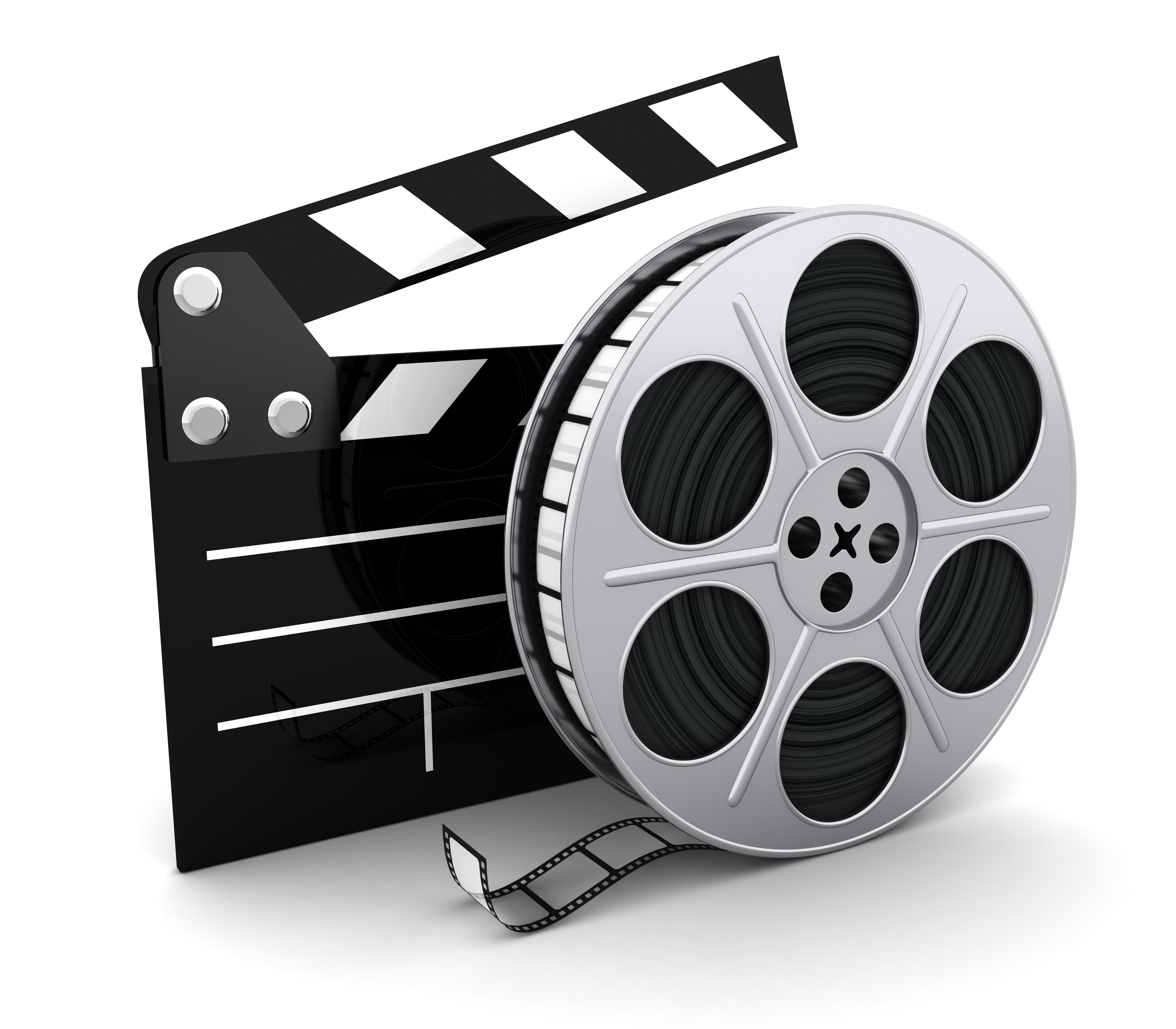 Top Fictional Monologues Of A - Movie Reel Clipart