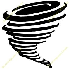 Tornado Drawing Sun Tornado Pages Tornado Clip Art Vector Stock More