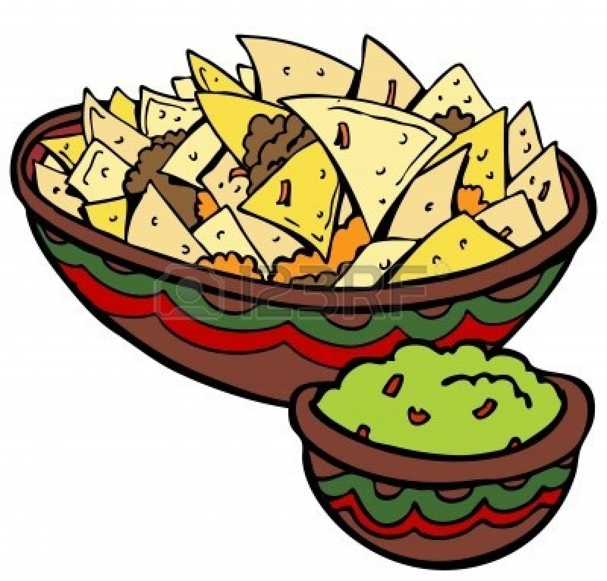 Tortilla Chips Clipart Clipart Panda Free Clipart Images