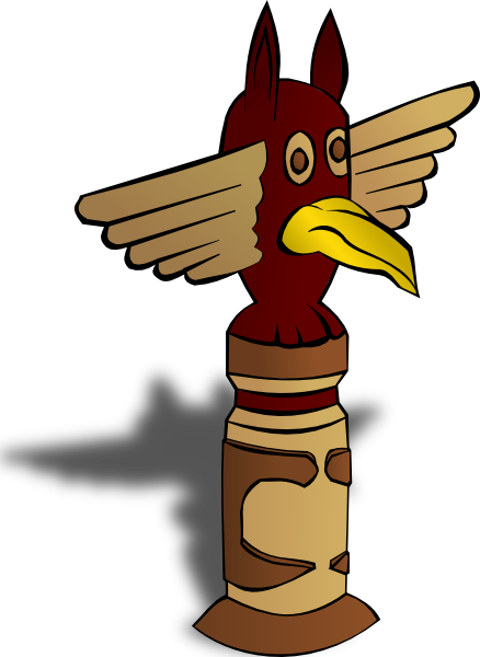 Totem Pole Clipart Cliparts Co-Totem Pole Clipart Cliparts Co-10