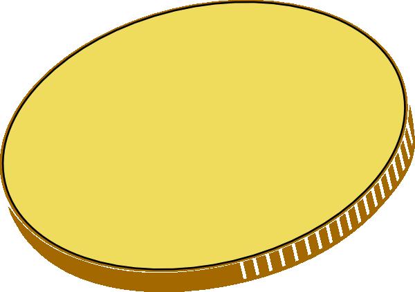 Totetude Gold Coin Clip Art At Clker Com Vector Clip Art Online