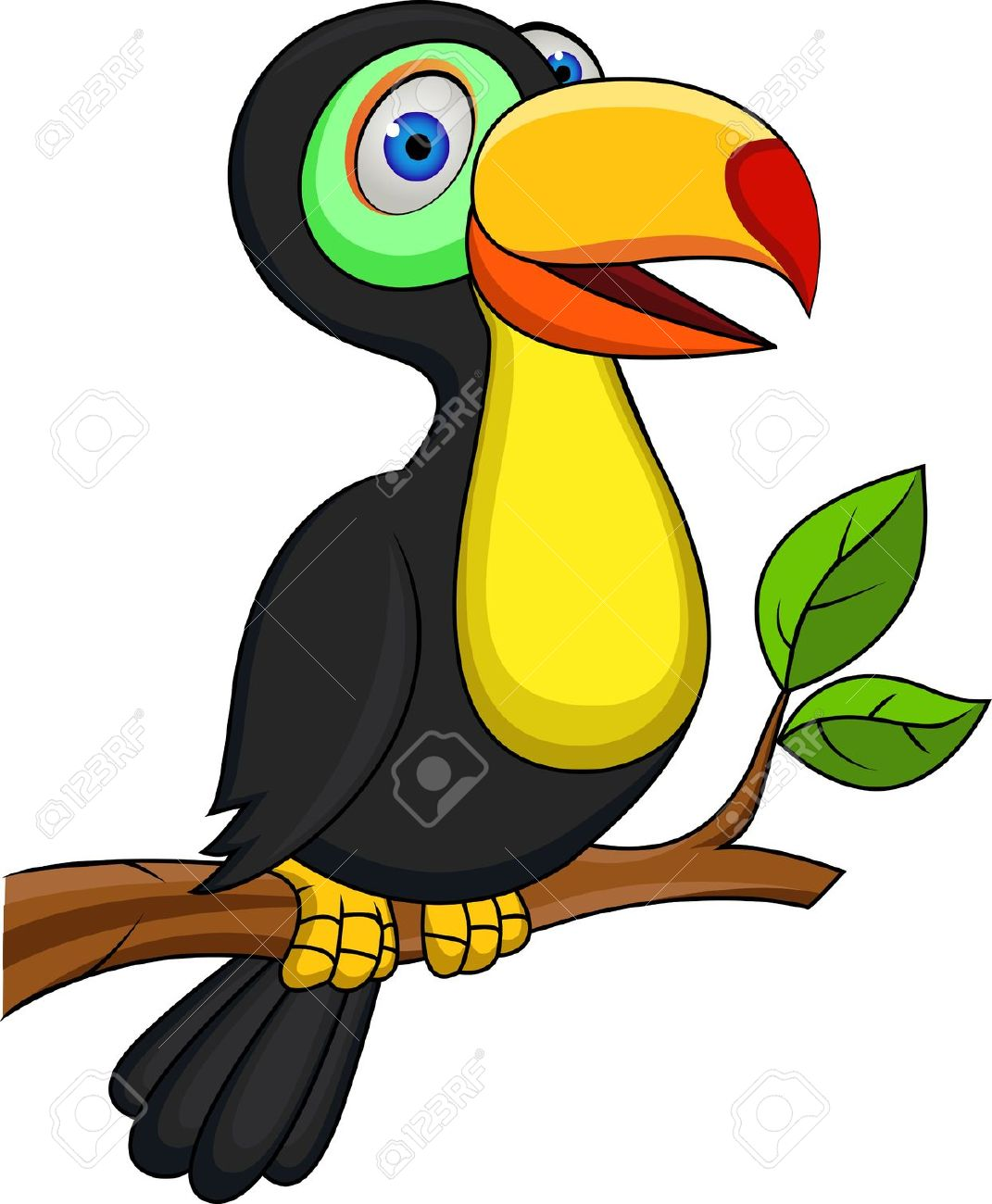 Toucan animal clipart - ClipartFest