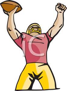 touchdown clipart