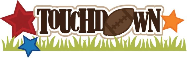 Touchdown Clip Art. Sports Layouts u0026amp; Graphics/SVGu0026amp;Scrapbook Titles