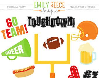 Touchdown Cute Clip Art